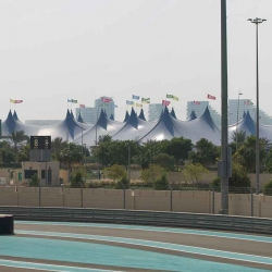 The Kayam Big Top Concert Tent in Abu Dhabi