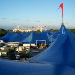 The Kayam Big Top Concert Tent