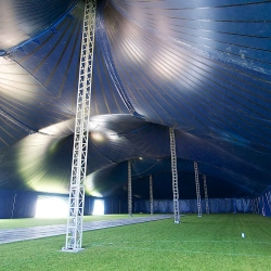 The Kayam Big Top Tent at the Ricoh Arena, England