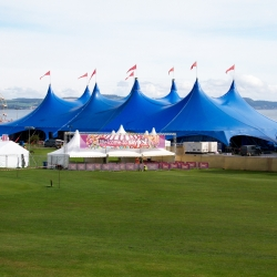 The Kayam Big Top Concert Tent at Skyfest