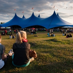The Kayam Big Top Tent at Ilosaarirock - Finland