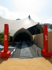 VIP entrance, Abu Dhabi