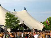 The Valhalla Big Top Tent at Roskilde Festival, Denmark