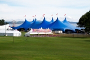 The Kayam Big Top Concert Tent at Skyfest