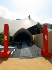VIP entrance, Abu Dhabi
