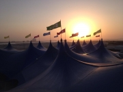 Sunset on Yas Island, Abu Dhabi