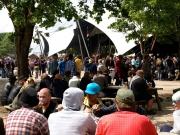 The Valhalla Big Top Tent at Roskilde Festival, Denmark
