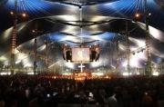 The Valhalla Big Top Tent at Soul Survivor, England