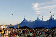 The Kayam Big Top Tent at Dranouter, Belgium